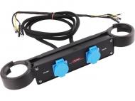 Propojovací kabel HERON 2kW slouží k paralelnímu propojení dvou elektrocentrál DGI 20 SP.
