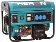 Benzínová 1f elektrocentrála HERON 55 AVR-1E.