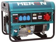 Benzínová 3f elektrocentrála HERON EGM 60 AVR-3.
