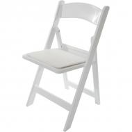 Cateringová skládací židle - svatební