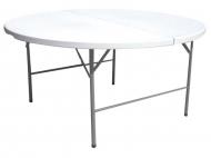 Cateringový kulatý skládací stůl - průměr 154cm