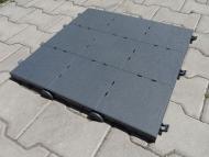 Mobilní podlaha - deska 50x50cm. Desky lze libovolně skládat do různých variant rozměrů.