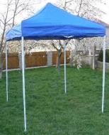 Nůžkový stan 2x2m CLASSIC modrý.
