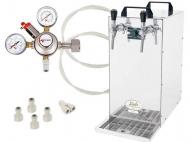 Základem sestavy Kontakt 155 - CO2 je suché chlazení Kontakt 155 Green Line. Tento špičkový výrobek firmy Lindr spolu s hadicemi, spojkami a redukčním ventilem tvoří sadu, kterou můžete použít v jakémkoli komerčním provozu.