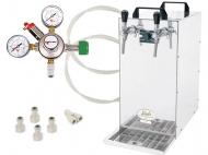 Základem sestavy Kontakt 155 - N2 je suché chlazení Kontakt 155 Green Line. Tento špičkový výrobek firmy Lindr spolu s hadicemi, spojkami a redukčním ventilem tvoří sadu, kterou můžete použít v jakémkoli komerčním provozu.