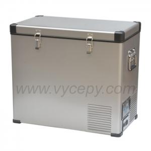 Ocelová kompresorová autochladnička Indel B TB60 Steel umožňuje kvalitní a dlouhodobé chlazení nápojů i potravin.