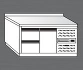 Nerezový chladící stůl PACHS 150-2
