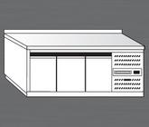 Nerezový chladící stůl PACHS 200-1