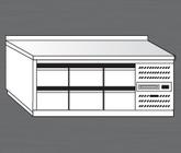 Nerezový chladící stůl PACHS 200-4