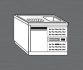 Nerezový chladící výčepní pult PAVP 100 CH 1