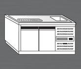 Nerezový chladící výčepní pult PAVP 150 CH 1