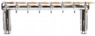 Výčepní stojan LINDR NAKED COLD BRIDGE 8x kohout Nostalgie