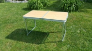Skládací stůl 120x60cm hliník.
