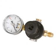 Redukční ventil na bombičku CO2 mini 600g, včetně rychlospojky - vývod na hadičku 6mm. Regulace tlaku 0-4 bar.