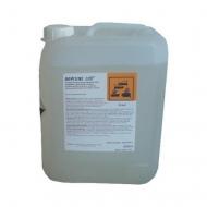 Kapalný koncentrovaný alkalický čistící prostředek s dezinfekční složkou, k čištění pivního potrubí a ostatních zařízení přicházejících do styku s pivem.