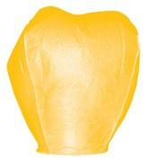 Lampion štěstí bílé barvy. Rozměry: 40 x 60 x 106cm (40cm v nejužším místě, 60cm v nejširším místě, 106cm výška).