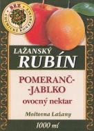 Ovocný nektar - pomeranč-jablko 1l. Lahodná chuť a osvěžující vůně tropického ovoce je vhodně doplněna českými jablky. Chuť tohoto nápoje je velmi vyvážená a příjemná, oproti jednodruhovým pomerančovým nápojům je jemnější.