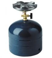 Plynový varič jednohořákový SOLO. Campingové plynové vařiče na propan butan jsou určeny pro turistické účely k přípravě pokrmů. Jsou připojeny přímo k 2 kg propan butanové láhvi. (tato láhev není součástí dodávky).