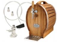 Soudek 30/K (chrom) s naražečem PLOCHÝ je luxusní výčepní sestava, které splní požadavky i toho nejnáročnějšího pivaře či majitele restaurace. Vyhotovení z nerezové oceli a kvalitního dubového dřeva zaručuje dlouhou životnost zařízení a vysokou odolnost vůči vnějšímu (i vnitřnímu) poškození.
