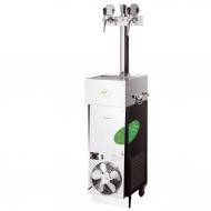 Vodní chlazení CWP 200 mobilní stojan 2 x kohout je jedinečný produkt firmy Lindr, zabývající se už přes dvacet let výčepními zařízeními. Inovace a technické posuny dovedly firmu Lindr až k výrobě tohoto jedinečného kousku, který v sobě snoubí efektivnost vodního zařízení s propracovaným designem kontaktních chladičů.