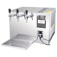 Pivní chlazení AS 45 1 x kohout se řadí mezi vodní stolová zařízení, což znamená, že je vhodné zejména do menších gastronomických provozů, kde s jeho pomocí bez problémů vytočíte 60-90 půllitrů dobře vychlazeného piva během jediné hodiny. Díky svým rozměrům se navíc bez větších obtíží vejde všude tam, kde není dostatek prostoru na klasické podstolové zařízení.