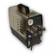 Sanitační přístroj SWING 600 je určen k čištění nápojových vedení tlakem vody (sanitačního roztoku). Hlavní součástí zařízení je elektromotor s čerpadlem umístěný v nerezovém plášti. Reverzace proudění je prováděna manuálně, ovladačem na čelním panelu.