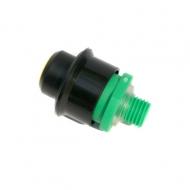 Pojišťovací ventil sanitačního sudu - plast.