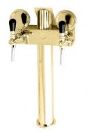 Výčepní stojan LINDR T2 včetně plaket - zlato.