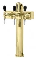 Výčepní stojan LINDR T3 - zlato.