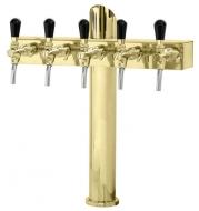 Výčepní stojan LINDR T5 - zlato.