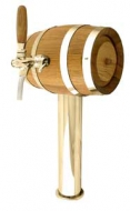 Výčepní stojan LINDR SOUDEK 1x kohout - zlato.