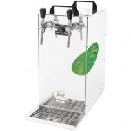 Výčepní zařízení KONTAKT 115 Green Line je výkonné chlazení řady KONTAKT, které dokáže za hodinu vychladit 115-130 litrů piva či jiného nápoje. Díky tomu a díky své ekologičnosti se stává hitem mezi kontaktními chlazeními pro komerční provoz, kde nachází uplatnění nejen ve stálých provozech, ale i na čím dál tím oblíbenějších venkovních akcích.