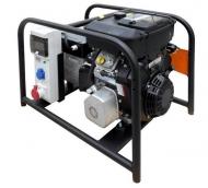 Třífázová elektrocentrála Grizzli 10000 V CCL MBZooJ je určená zejména pro napájení točivých strojů, čerpadel, kompresorů a stavebních zařízení, ale i pro citlivé přístroje.