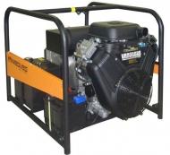 Třífázová elektrocentrála Grizzli 14000 V MNoSoo je určená zejména pro napájení točivých strojů, čerpadel, kompresorů a stavebních zařízení, ale i pro citlivé přístroje.