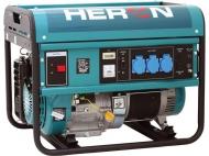 Benzínová 1f elektrocentrála HERON 55 AVR-1.