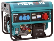 Benzínová 3f elektrocentrála HERON EGM 60 AVR-3E.