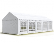 Jeden z největších párty stanů na našem trhu, PREMIUM 6x10 m bílý, se díky svým rozměrům hodí zejména na společenské akce většího rozsahu a na komerční využití.