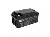 Gelová trakční baterie Goowei OTL65-12 s kapacitou 65 Ah je vhodná jako externí akumulátor pro záložní zdroje.