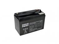 Gelová trakční baterie Goowei OTL100-12 s kapacitou 100 Ah je vhodná jako externí akumulátor pro záložní zdroje.