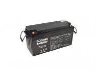 Gelová trakční baterie Goowei OTL150-12 s kapacitou 150 Ah je vhodná jako externí akumulátor pro záložní zdroje.