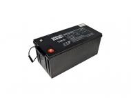 Gelová trakční baterie Goowei OTL200-12 s kapacitou 200 Ah je vhodná jako externí akumulátor pro záložní zdroje.