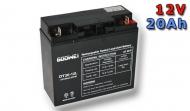 Trakční baterie Goowei OTL20-12 12V/20Ah.