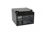Trakční baterie Goowei OTL26-12 je vhodná zejména pro připojení k náhradním zdrojům, kde slouží jako zásobárna energie při výpadku elektřiny.