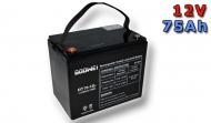 Trakční baterie Goowei OTL75-12 12V/75Ah.