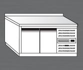 Nerezový chladící stůl PACHS 150-1