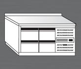 Nerezový chladící stůl PACHS 150-3.