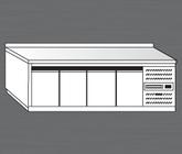 Nerezový chladící stůl PACHS 260-1