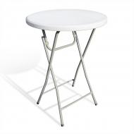 Skládací barový stůl - průměr 80cm