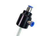 Naražeč na PET lahve s připojovacími rychlospojkami 9,5mm (pivo) a 8mm (vzduch).