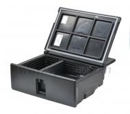 Kompresorová autochladnička VITRIFRIGO V26 je určena pro vestavbu do vozidel VOLVO FH3 do šuplíku.